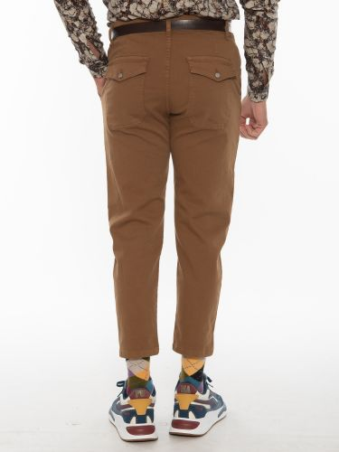 OVER-D Chino Trousers OT1F2W1P44 Brown
