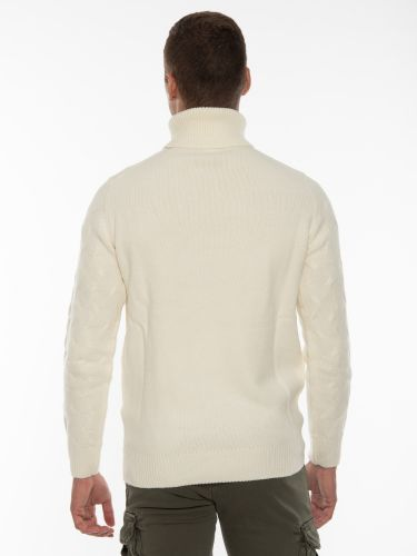 OVER-D Knitted blouse OM930MG Off-white
