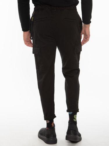OVER-D Cargo Trousers OT1F2W1P038 Black