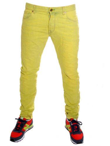 Reign jean wudy denim κίτρινο