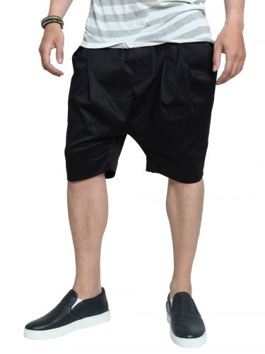 LAK chino shorts MS15403403 black