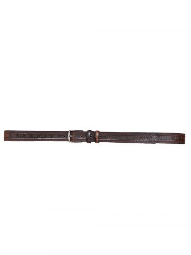 Gad Accessories belt B137/1/30 dark brown
