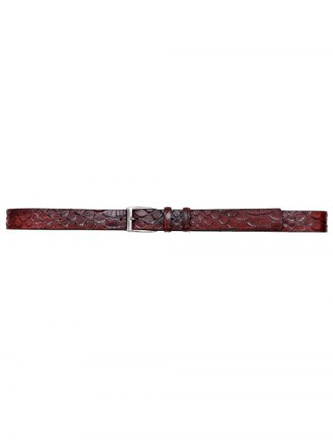Gad Accessories belt B134/1/30 burgundy red