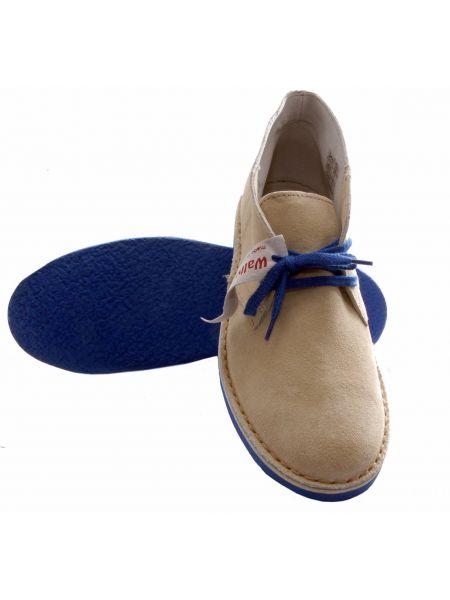 Wally Walker παπούτσι chukka άσπρο