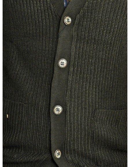 GUYA knit cardigan MA6609UOFW15 khaki