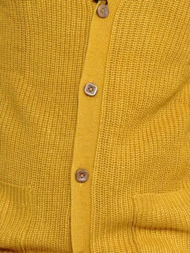 GUYA knit cardigan MA6609UOFW15 ochre