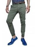 OVER-D chino pants GL621 khaki