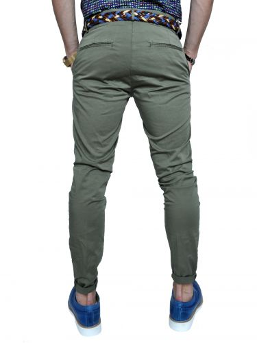 OVER-D chino pants GL621 khaki