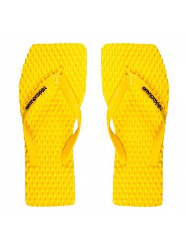 Hikkaduwa σαγιονάρες REFLEXOLOGY κίτρινες