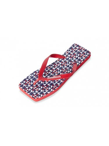 Hikkaduwa flip-flop MAN EDITION red-blue