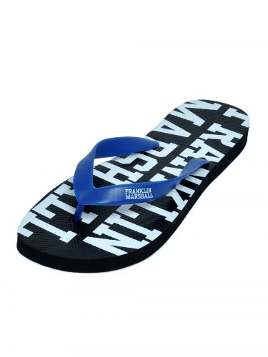 Franklin and Marshall flip-flops FTUA9090S16 black