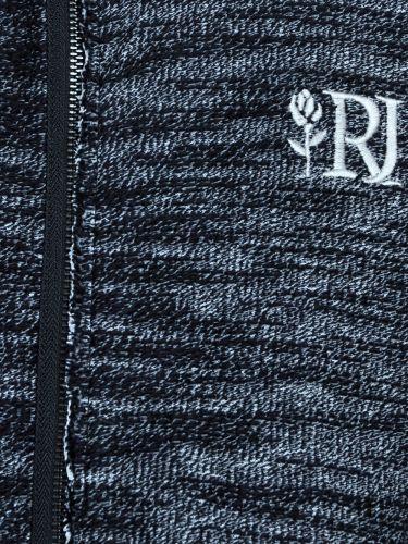 Rum Jungle sleeveless cardigan FELSON 00RFE005-016-001 grey melange