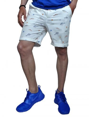 THE PROJECT chino shorts H7SH101CE white