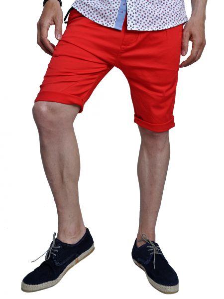 TREZ chino shorts 113M35921 red
