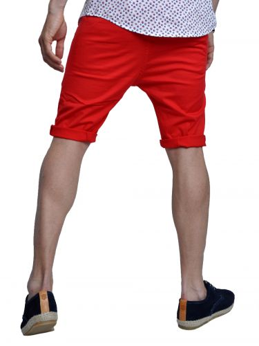 TREZ chino shorts 113M35921 red