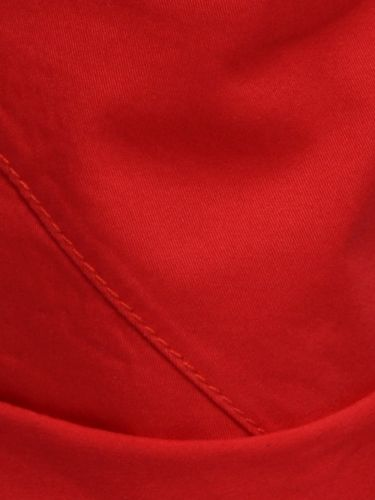 TREZ chino δίπιετη βερμούδα 113M35921 κόκκινη