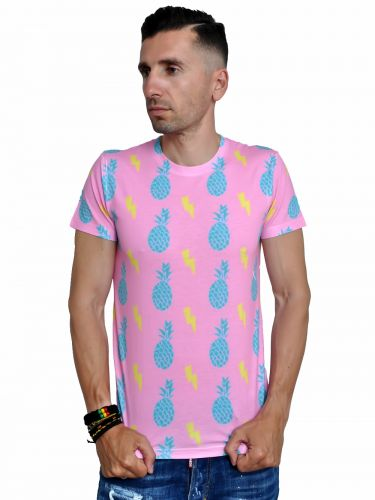 SMARTNESS LAB t-shirt U39 pink