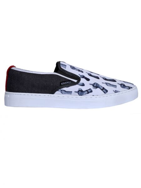 RUM JUNGLE slip-on sneakers SEASY 00RAC004-016-001 white-anthracite