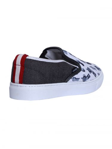 RUM JUNGLE slip-on sneakers SEASY 00RAC004-016-001 λευκό-ανθρακί
