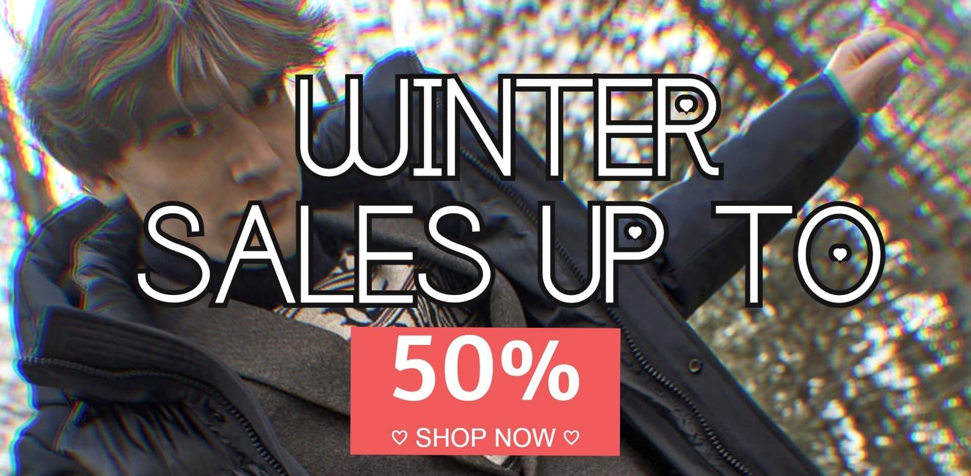 SALES UPTO 50%